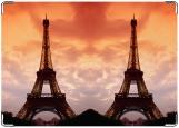 Обложка на паспорт с уголками, Эйфелева башня