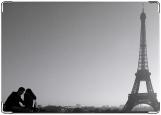 Обложка на паспорт с уголками, Загранка. Париж.
