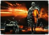 Обложка на паспорт с уголками, Battlefield 3