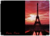 Обложка на паспорт с уголками, Paris