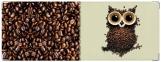Обложка на зачетную книжку, Кофейная сова