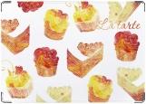 Обложка на автодокументы с уголками, тортики
