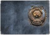 Обложка на автодокументы с уголками, гранж СССР