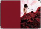 Обложка на паспорт, Lady in red