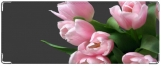 Кошелек, Букет тюльпанов