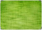 Обложка на автодокументы с уголками, зеленая мешковина