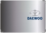 Обложка на автодокументы с уголками, Daewoo