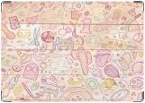 Обложка на автодокументы с уголками, рисунок