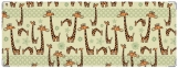 Обложка на зачетную книжку, жирафы