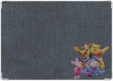 Обложка на паспорт с уголками, Винни Пух