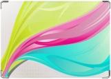 Обложка на автодокументы с уголками, краски