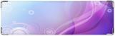 Визитница/Картхолдер, фиолетовая абстракция