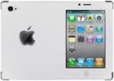Обложка на паспорт с уголками, Белый iPhone