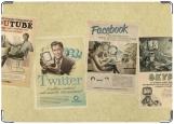 Обложка на паспорт с уголками, Социльная сеть