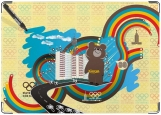 Обложка на паспорт с уголками, Олимпиада 80