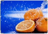 Обложка на паспорт с уголками, Апельсины