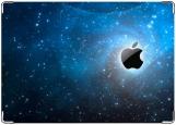 Обложка на паспорт с уголками, Apple_Universe