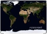Обложка на паспорт с уголками, Google maps