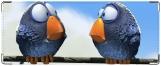 Обложка на студенческий, Птички