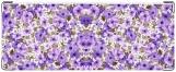 Обложка на студенческий, Синие цветы