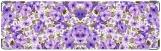 Визитница/Картхолдер, Синие цветы