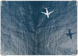 Обложка на паспорт с уголками, над морем..