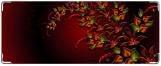 Кошелек, Цветочный орнамент