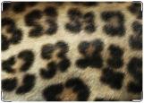 Обложка на автодокументы с уголками, светлый леопард