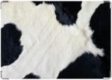 Обложка на автодокументы с уголками, корова