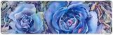 Визитница/Картхолдер, Голубая роза