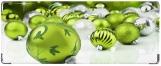 Кошелек, зеленные шарики