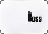 Обложка на паспорт с уголками, The Boss
