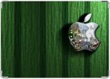 Обложка на паспорт с уголками, Apple