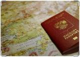 Обложка на паспорт с уголками, заграничный паспорт