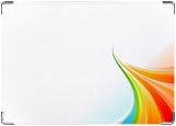 Обложка на автодокументы с уголками, rainbow