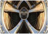 Обложка на автодокументы с уголками, колесо