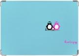 Обложка на автодокументы с уголками, Пингвины4