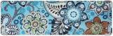 Визитница/Картхолдер, Цветы на голубом