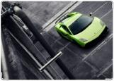 Обложка на автодокументы с уголками, Lamborghini