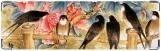 Визитница/Картхолдер, птицы