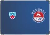 Обложка на паспорт с уголками, Торпедо Нижний Новгород КХЛ
