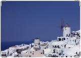 Обложка на паспорт с уголками, Крит Море Город
