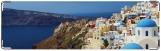 Визитница/Картхолдер, Крит Море Церкви Санторини Город