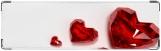 Визитница/Картхолдер, Рубиновые сердца