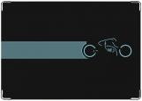 Обложка на автодокументы с уголками, line