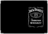 Обложка на автодокументы с уголками, Джек Дэниалс