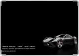 Обложка на автодокументы с уголками, Ferrari