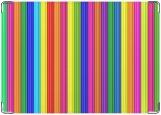 Обложка на паспорт с уголками, stripes