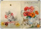 Обложка на паспорт, Kittens