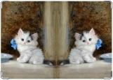 Обложка на паспорт с уголками, Kitty